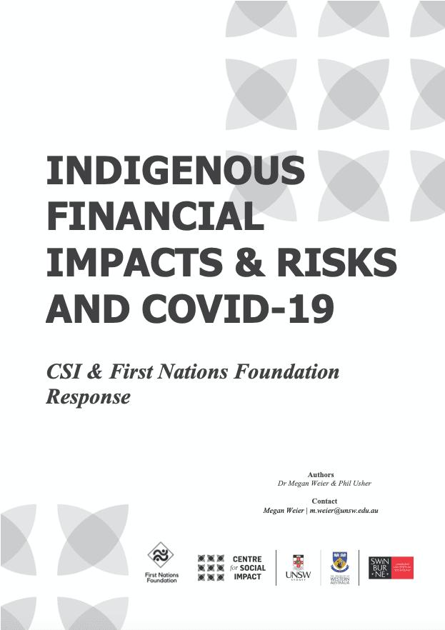 Csi Covid Factsheet Indigenous Impact Final 2