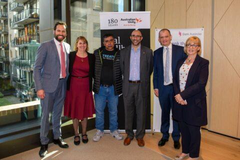 iba partnership launch breakfast group photo june 2021